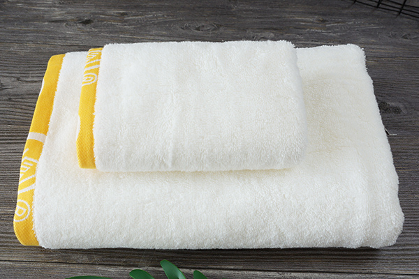 Promotion New Style Towel Custom Full Cotton White Towel Set