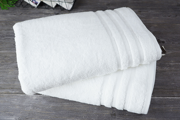 5 star hotel quality 100% cotton white adult towel