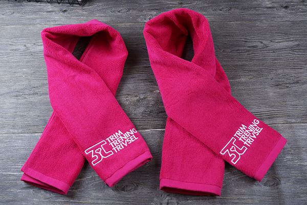 Custom soft 100% cotton sports adult towel with embroidery  logo
