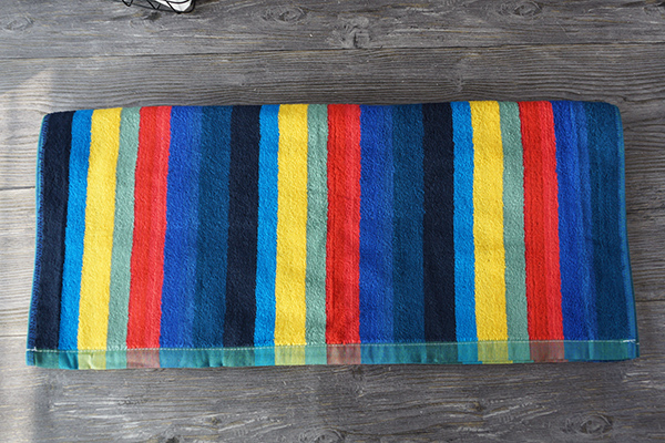 Wholesale custom gift 100% cotton stripe bath towel