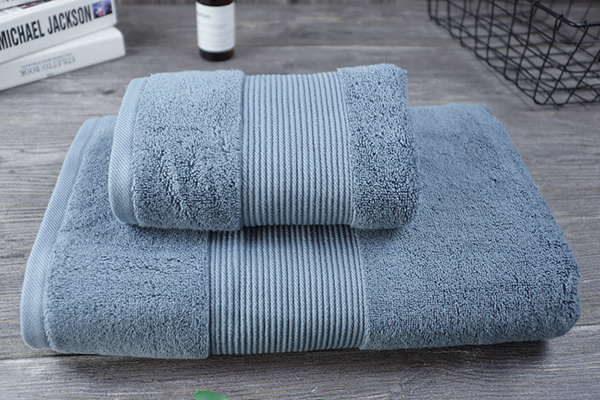 Grey Towel Sets 100% Cotton Luxury Gift Hand Bath Towel