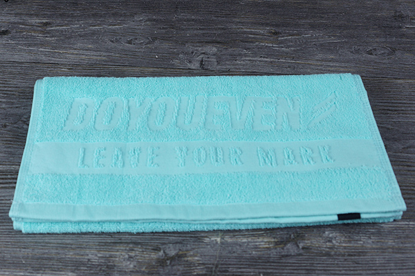 Wholesale custom 100% cotton towels 75*35cm gift for promotion